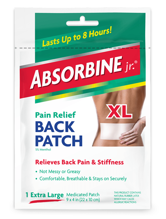 pain patches for back pain